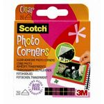 Scotch® Clear Photo Mounting Corners, Acid Free, 250 Pack